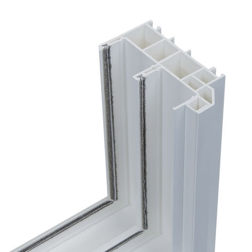 Anlin window frame with inner chambers