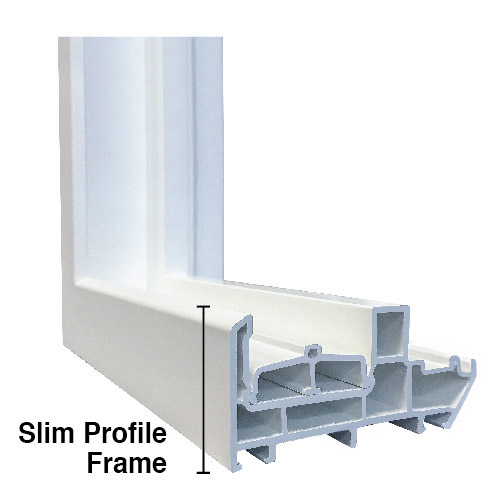 Anlin slim profile window frame