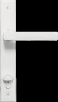 Anlin white door handle