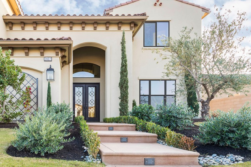 Anlin windows with architectural bronze exterior frame color